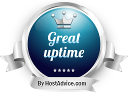 HostAdvice Great Uptime Award for Gozen Host