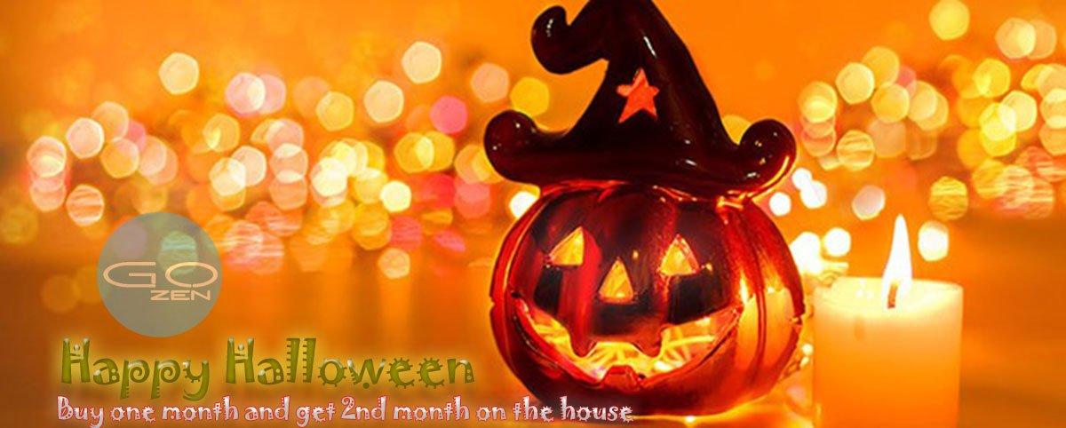 Happy Halloween - Just Treats